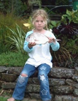 Paige Kilpatrick - Pukearuhe 19/02/06, Snapper 0.60kg